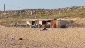 cabane de plage la terrière le gecko