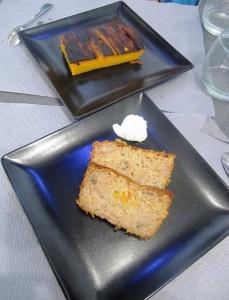 Gâteau Patate Douce et Cake aux fruits et épices